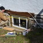 New Energy efficient windows.