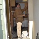 New door install.