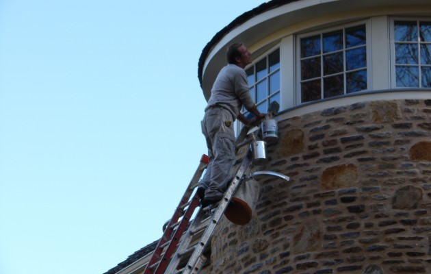 Exterior Repairs and Painting